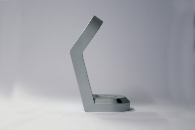 Hololamp: Der derzeitige Prototyp sieht noch nicht ganz so schick wie auf diesem Bild aus. (Grafik: Hololamp)