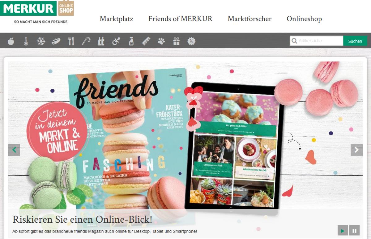 Die Digital-Strategie der Supermarktkette Merkur: Bluetooth und Beacons