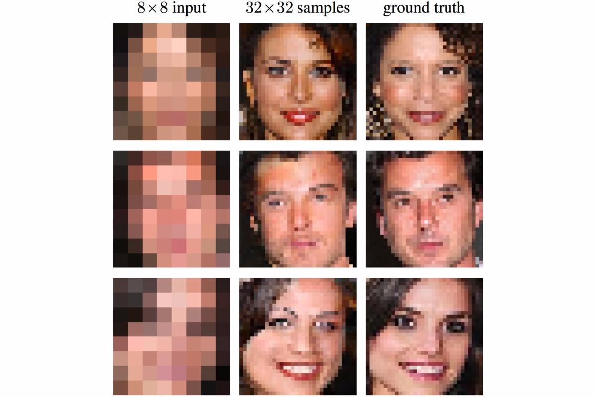 Google nutzt KI, um aus Pixelmatsch erkennbare Bilder zu machen