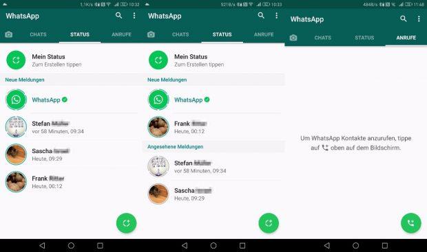 whatsapp status tipps und tricks f r den snapchat klon t3n