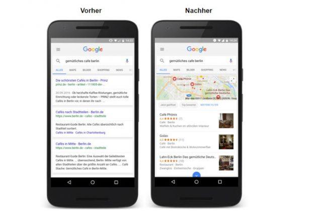 rich cards googles bildgewaltige mobile suche startet in deutschland t3n. Black Bedroom Furniture Sets. Home Design Ideas
