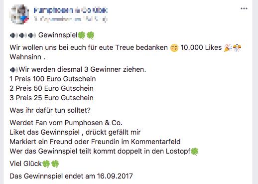 Zoo Und Co Facebook Gewinnspiel