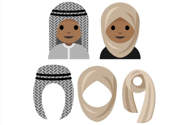 Schülerin kommt mit Kopftuch-Emoji in Einfluss-Ranking