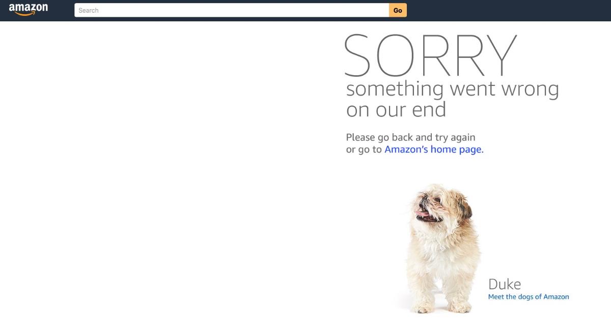 Amazon-Prime-Day in den USA startet mit Website-Ausfällen