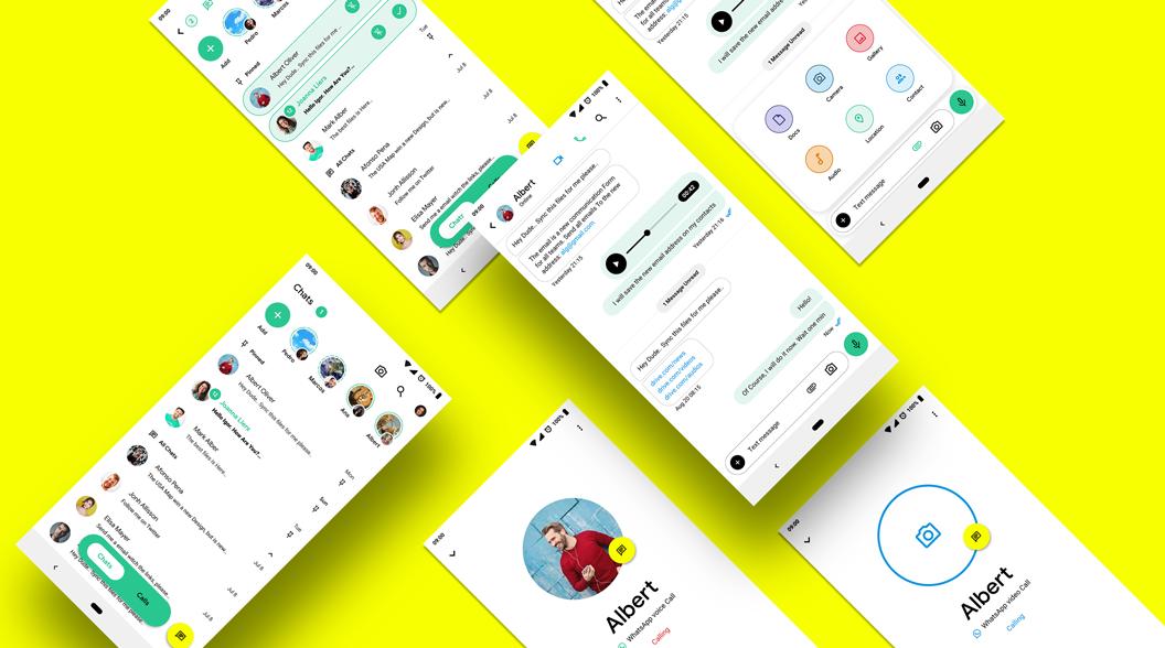 So schön kann Whatsapp sein: Designer entwickelt neues Konzept