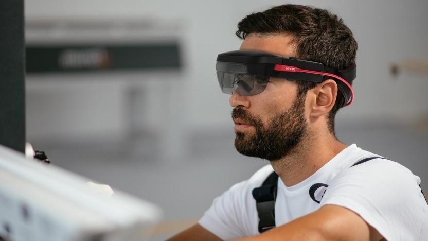 Thinkreality A6: Lenovo präsentiert ein von Hololens inspiriertes AR-Headset