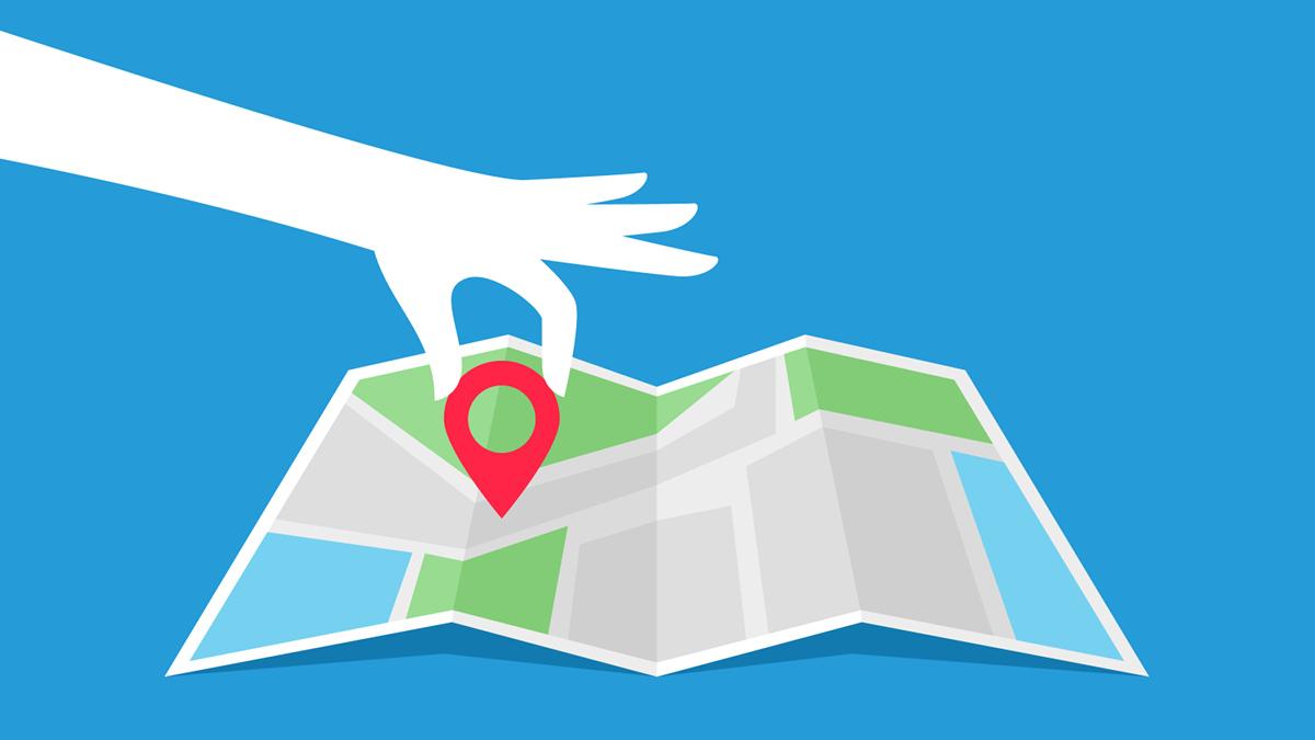 Google Maps Stecknadel