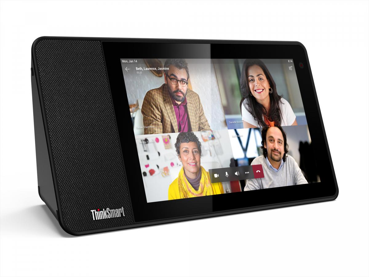 Thinksmart View: Lenovo kündigt Smart-Display für Unternehmen an