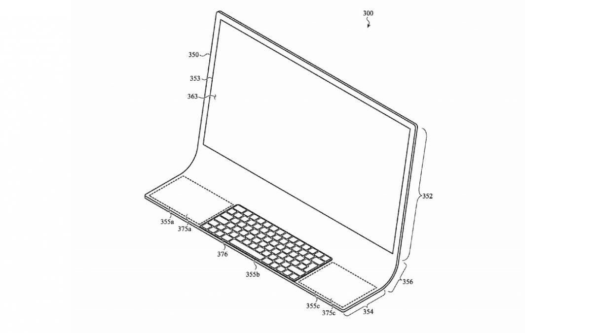 iMac der Zukunft? Apple-Patentskizze zeigt mutiges All-in-One-Rechner-Design