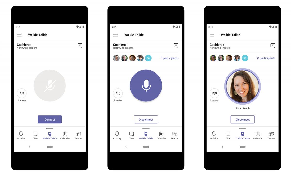 Weniger Geräte: Walkie-Talkie-Funktion in Microsoft Teams soll Kommunikation bündeln