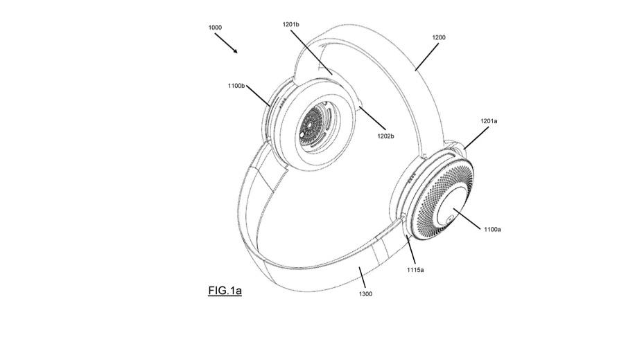 Dyson patentiert Kopfhörer mit Luftreinigungsfunktion
