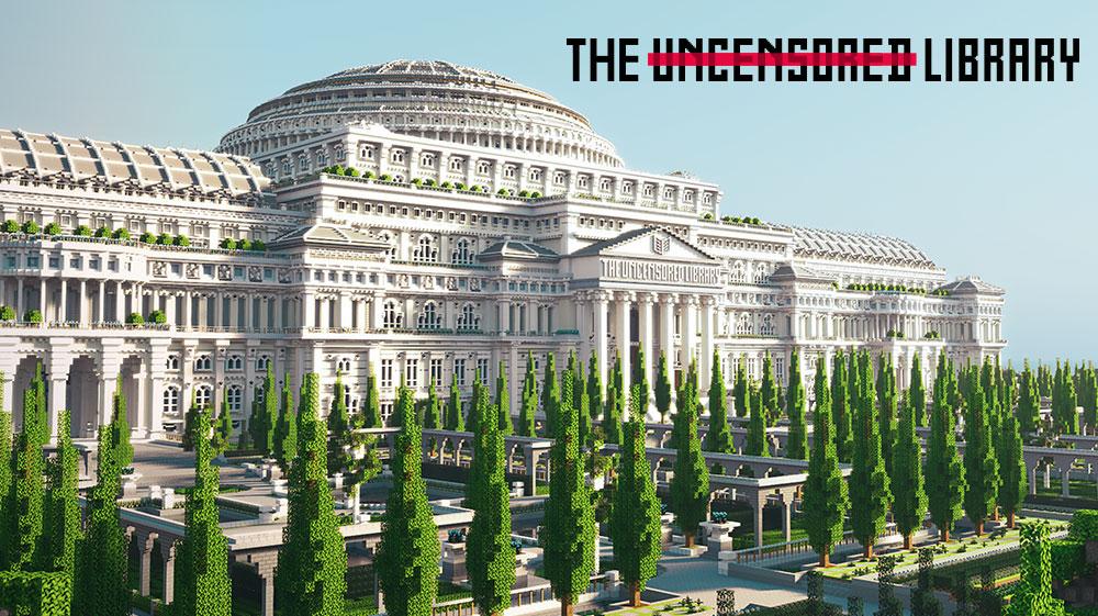 The Uncensored Library: Riesige Minecraft-Bibliothek gegen Zensur