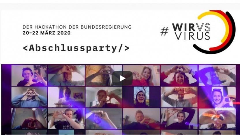 #wirvsvirus: So lief der Digital-Wettbewerb gegen die Coronakrise