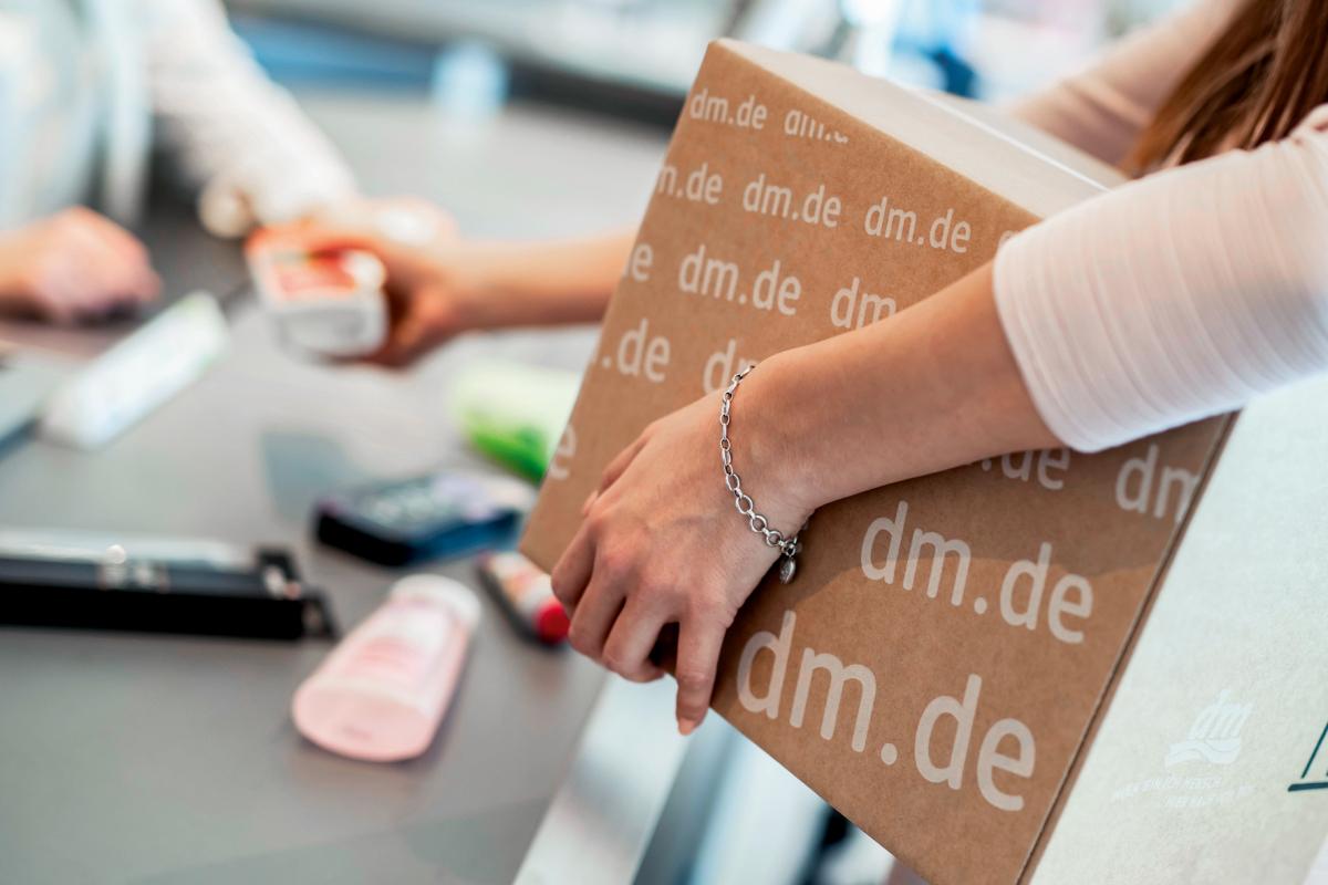 Express Abholung Im Dm Markt Service Jetzt Deutschlandweit Verfugbar