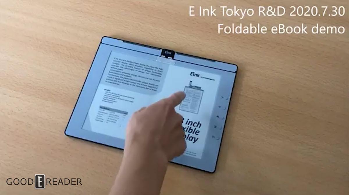 E-Reader in Buchform: Faltkonzept taugt zum Notieren