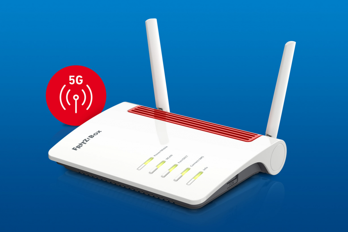 AVM Fritzbox 6850: The 5G router is coming to Germany thumbnail
