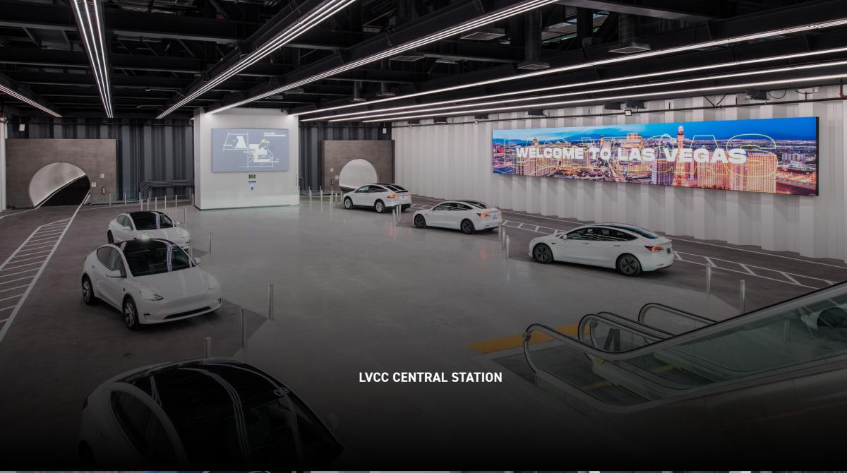 The Loop: Elon Musks Boring Company startet Regelbetrieb im Tesla-Tunnel unter Las Vegas
