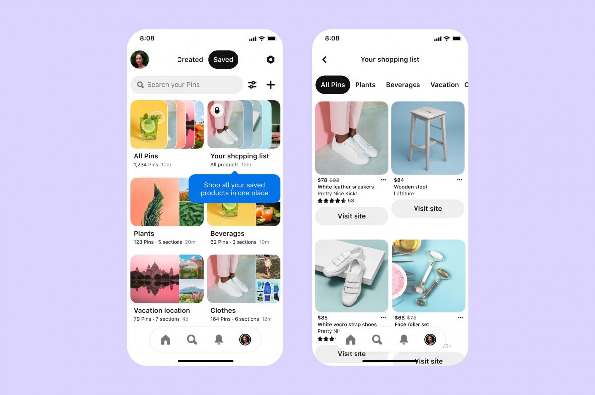 Shopping per Pinterest Diese neuen Tools gibt es für Nutzer und ...