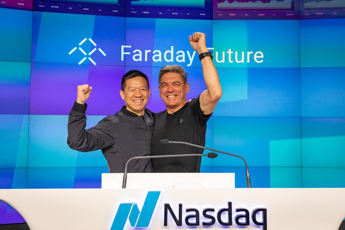 Faraday Future geht an die Börse und verkündet Termin für FF 91 Futurist