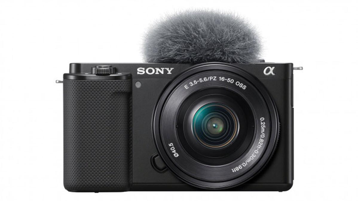 Sony ZV-E10: Die erste Alpha-Systemkamera für Youtuber ist da