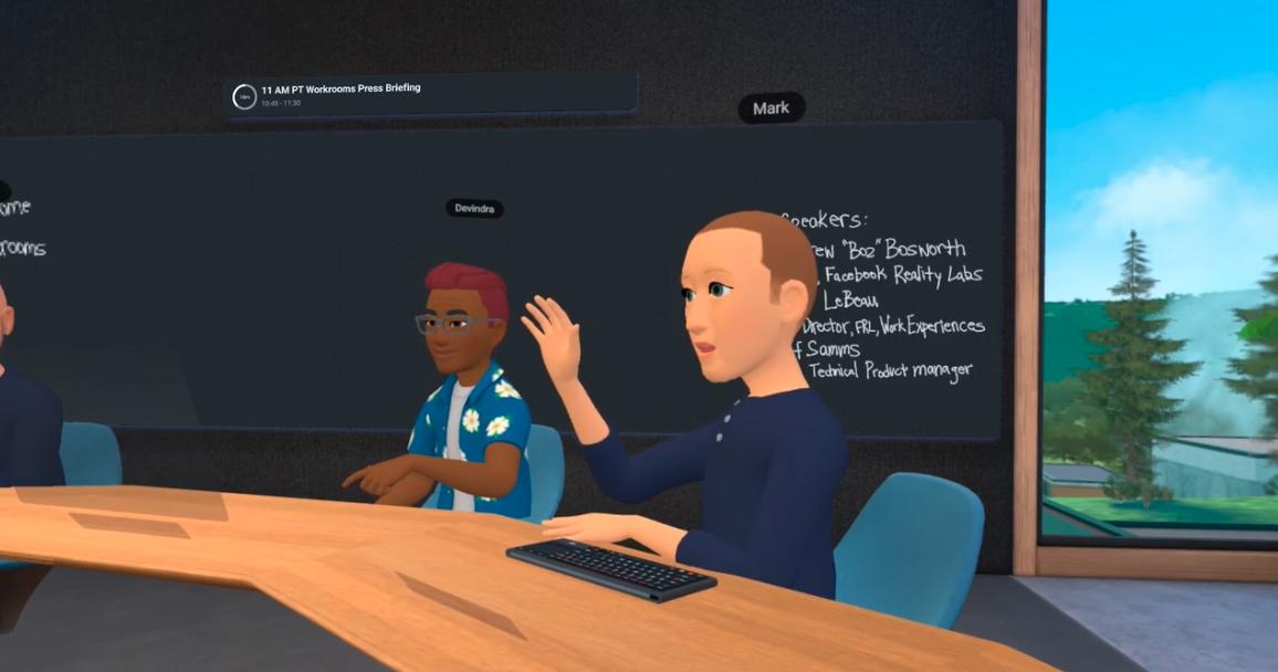 Horizon Workrooms: Fb presents VR app for collaboration thumbnail