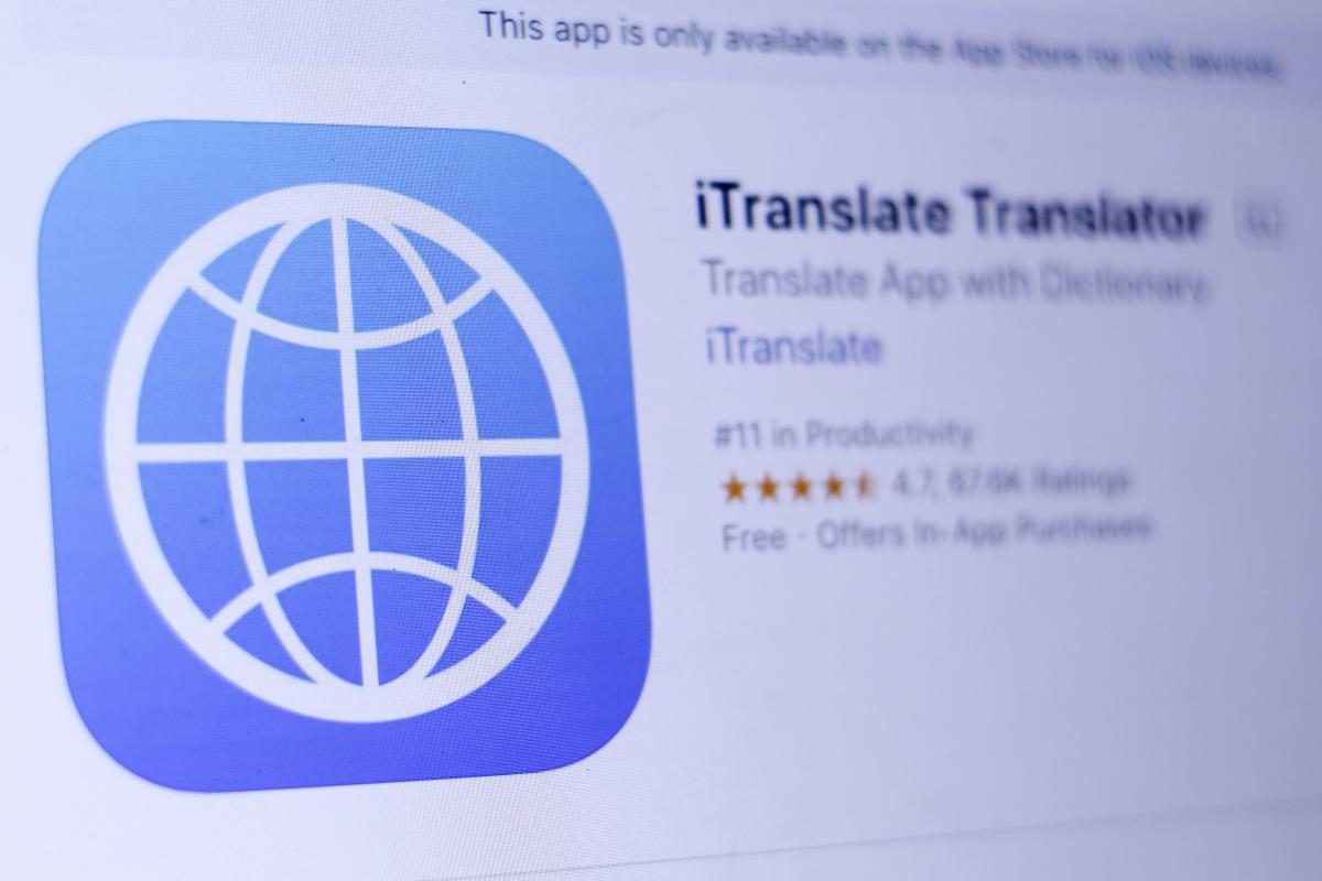 iTranslate Keyboard: This device facilitates communication in international languages thumbnail