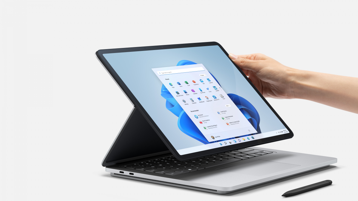 Floor Laptop computer Studio: Microsoft's new prime pocket book with a swivel show thumbnail