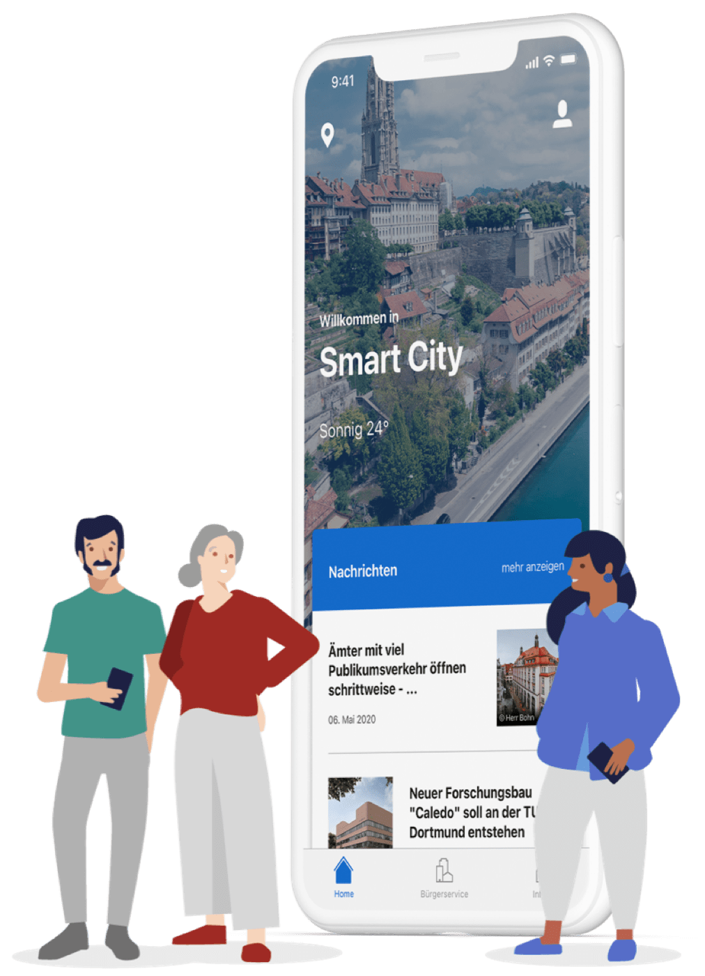 App as a substitute of workplace: Citykey guarantees digital citizen providers on the smartphone thumbnail