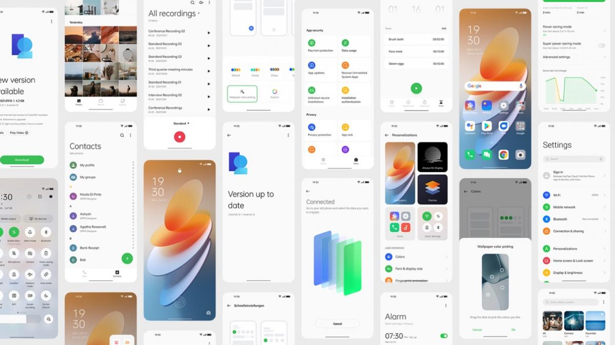 Oppo ColorOS 20 Das bringt das Update auf Android 20 Basis ...